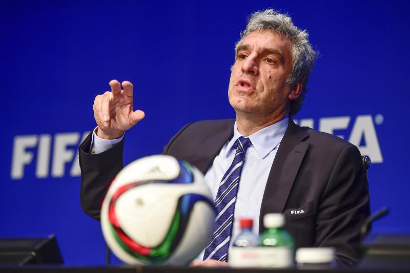 FIFA-perschef Walter Di Gregorio opgestapt (Pro Shots/Zuma Sports Wire)
