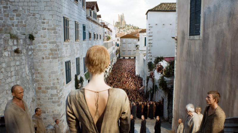 Game of Thrones Walk of Shame