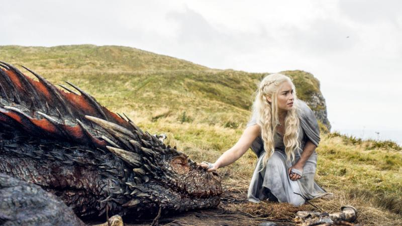 Game of Thrones Drogon & Daenerys