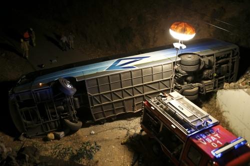 Doden bij ongeluk met bus vol Nederlanders