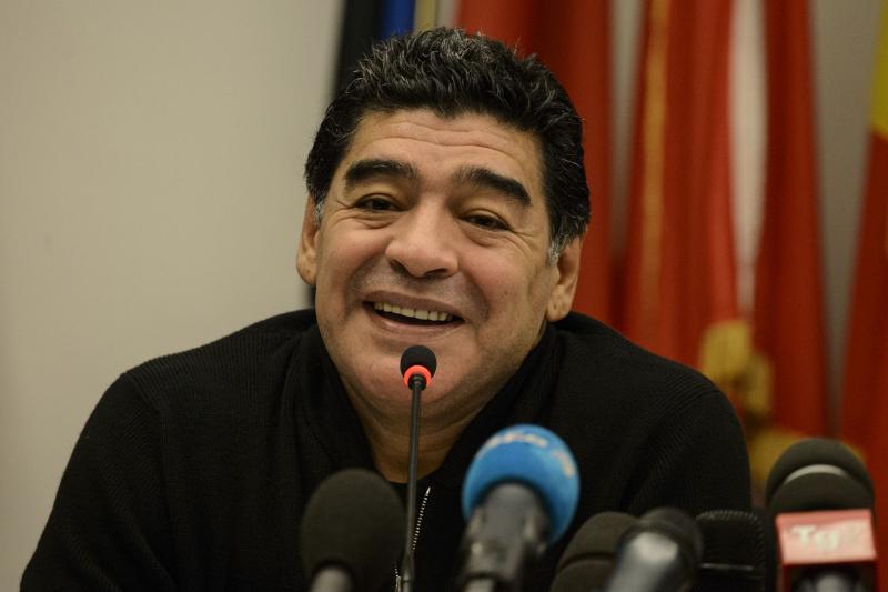 Maradona wil FIFA-voorzitter worden (Pro Shots/Insidefoto)