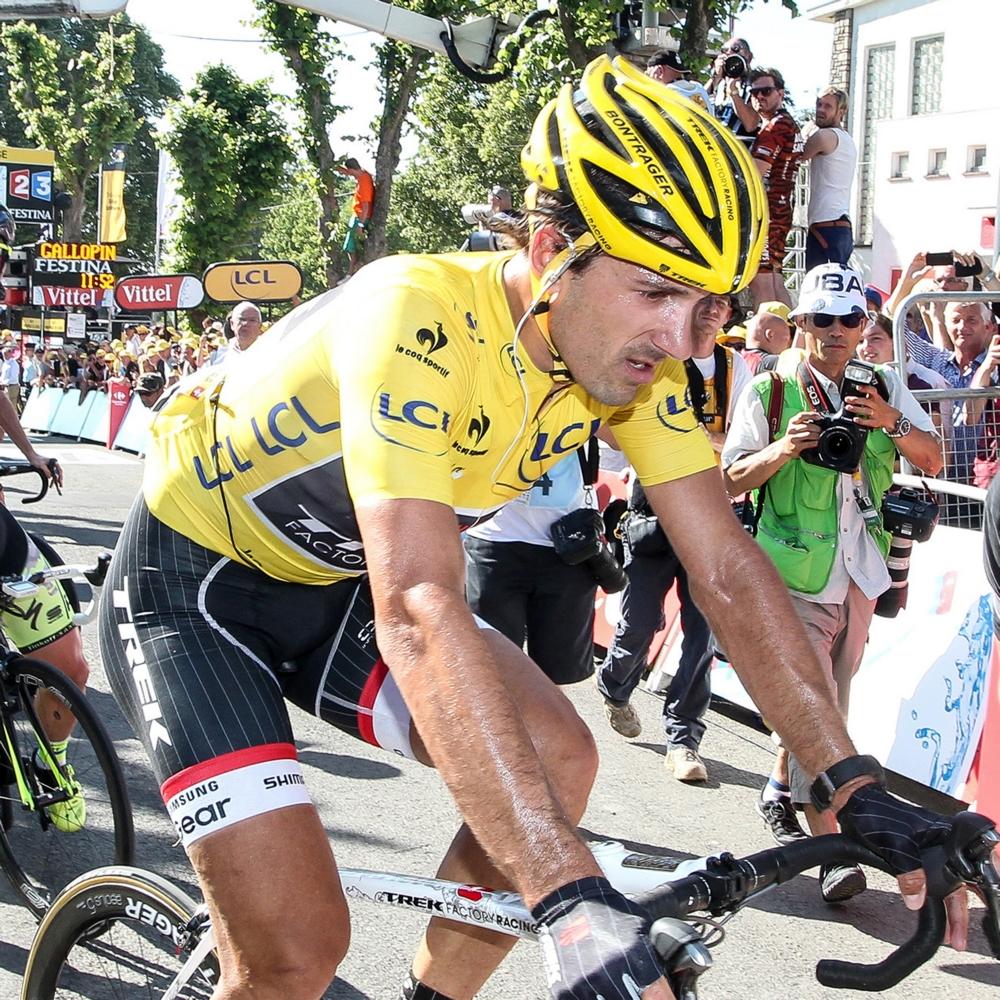 Fabian Cancellara na botbreuken uit de Tour (Pro Shots/George Deswijzen)