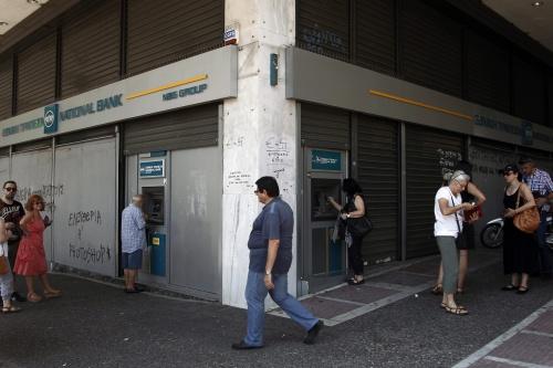 Griekse banken dicht op dinsdag en woensdag
