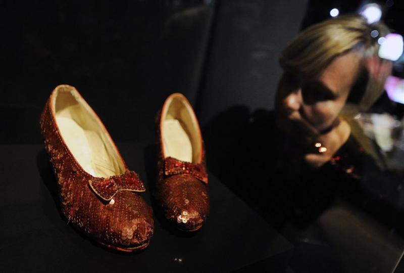Miljoen dollar voor schoenen 'Wizard of Oz'