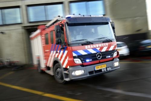 Winkelcentrum Beverwijk ontruimd na brand