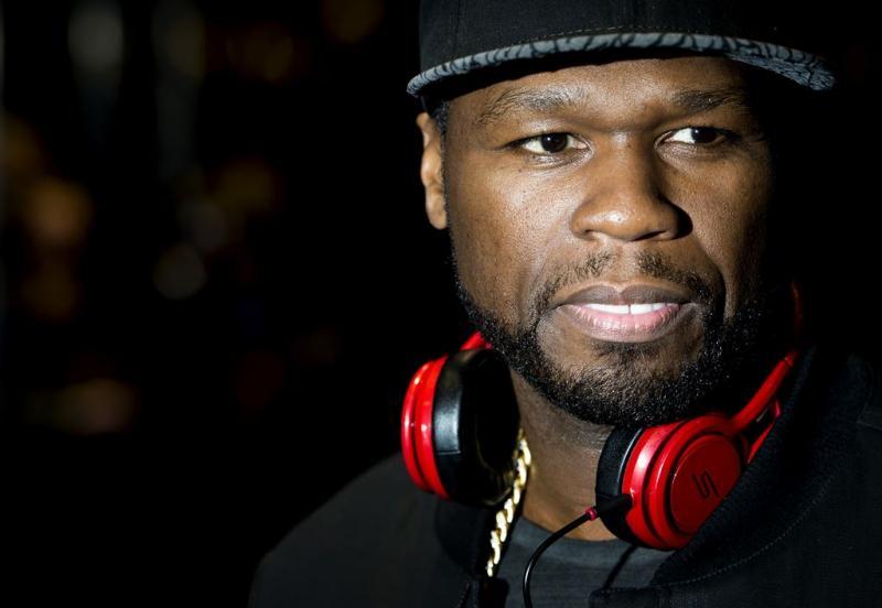 'Rapper 50 cent zit zonder geld'