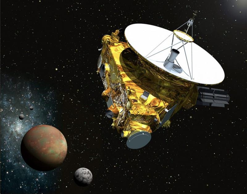 Sonde scheert langs Pluto