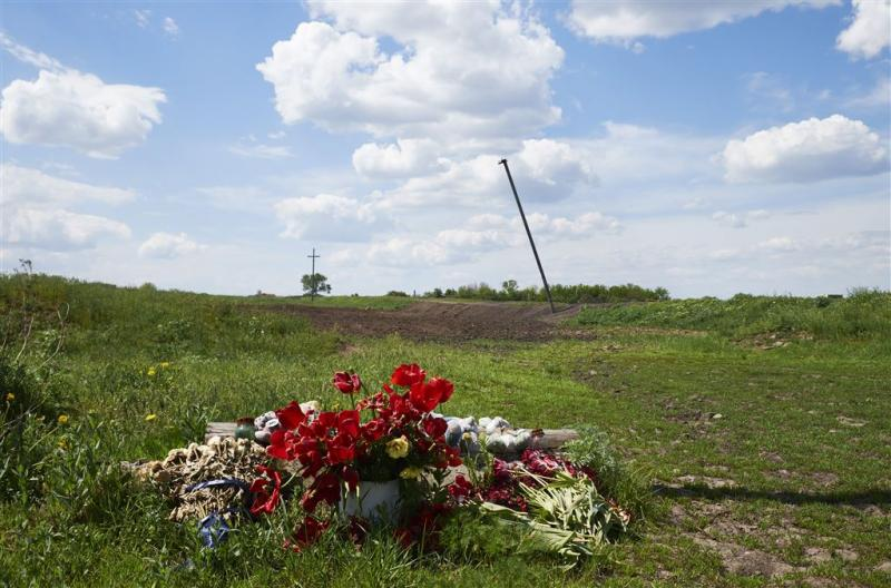 Monument Grabovo voor MH17-slachtoffers