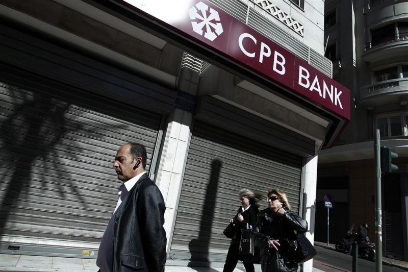 Griekse banken ook donderdag dicht