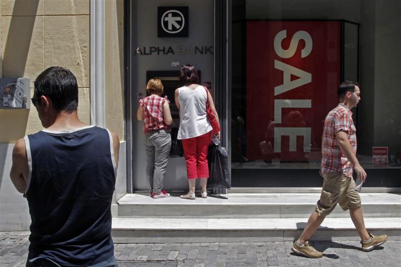 Prijzen in Griekenland blijven dalen
