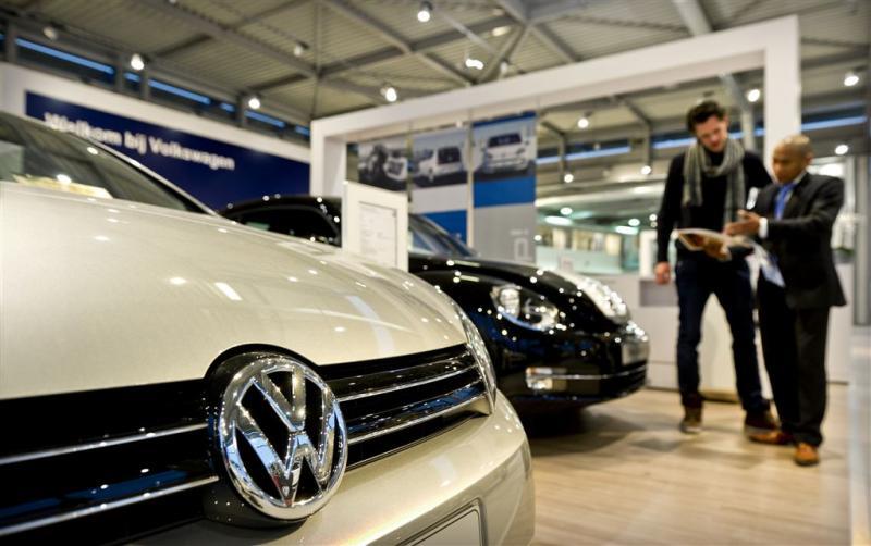 Europese autoverkopen stevig in de lift