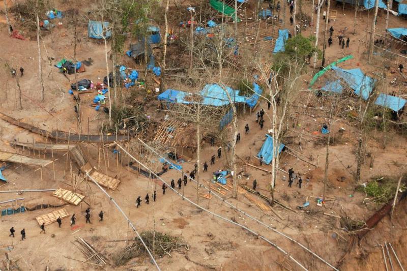 Peru pakt illegale goudmijnen aan
