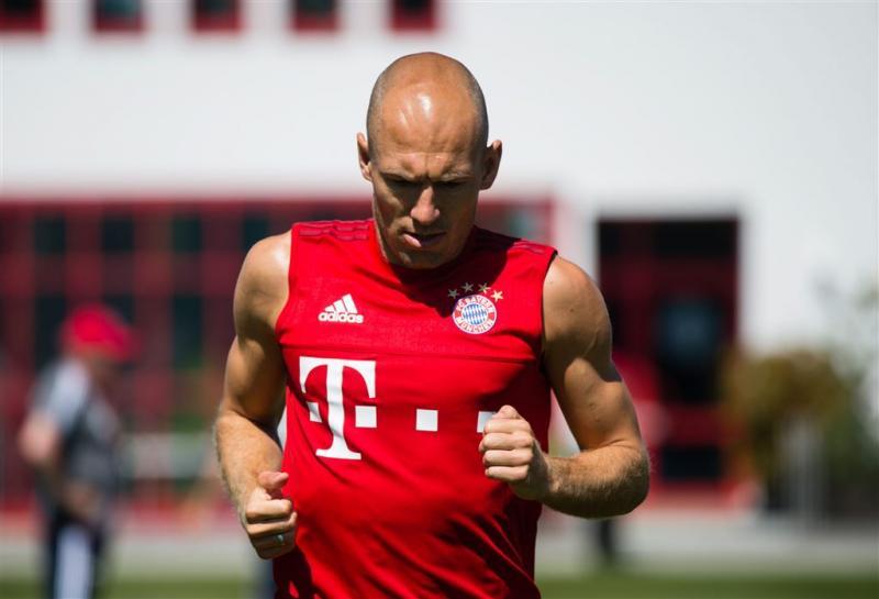 Robben niet met Bayern mee naar China