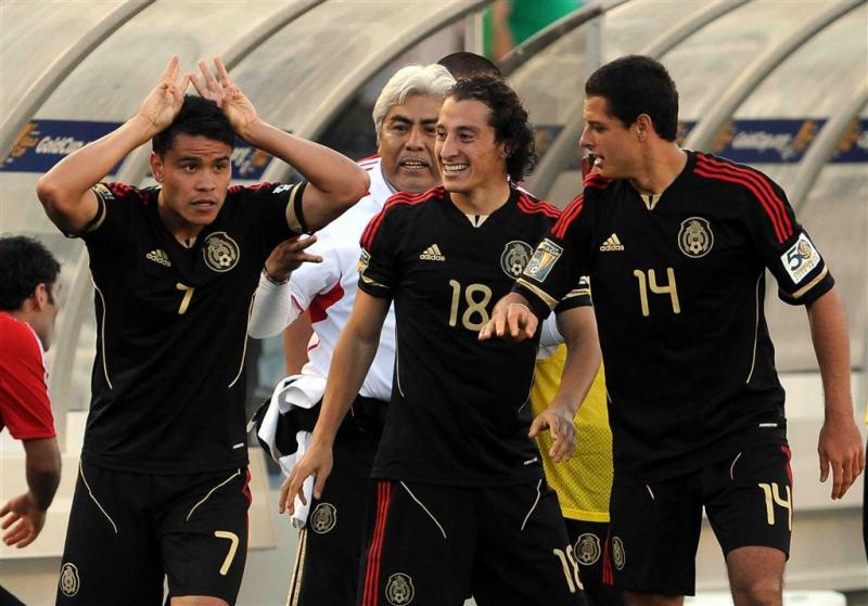 Guardado weer trefzeker voor Mexico