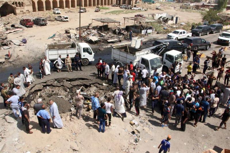 'Slachtoffers Irak met ijs in de val gelokt'