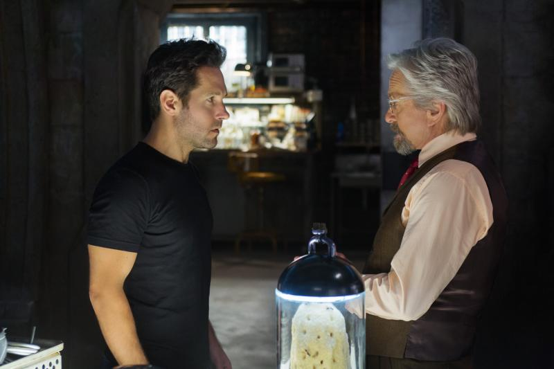 Ant-Man: Paul Rudd en Michael Douglas