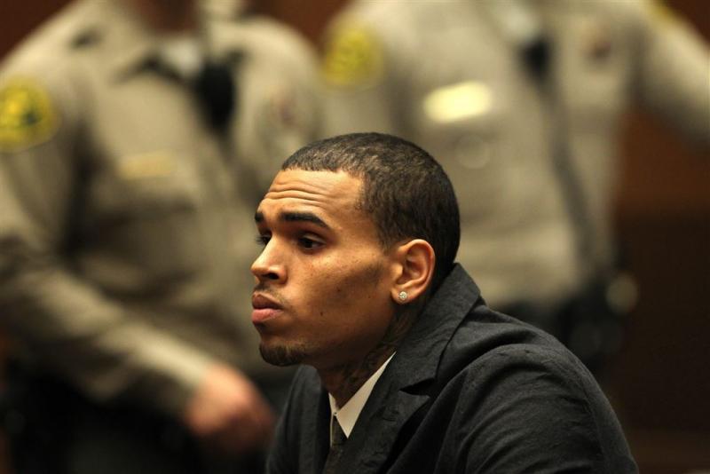 Chris Brown mag Filipijnen niet verlaten