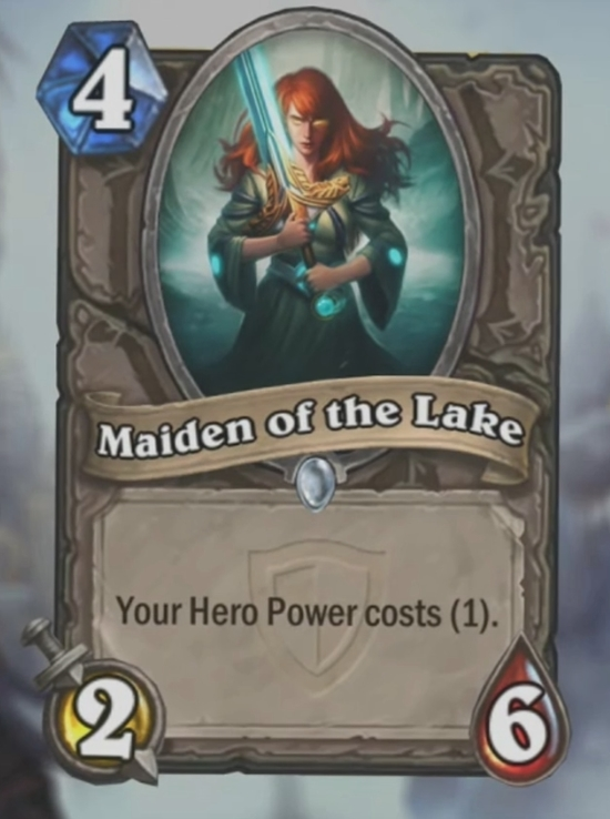 maiden of the lake hearthstone