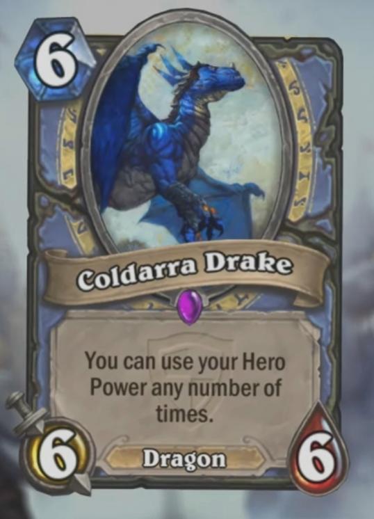 Coldarra Drake hearthstone