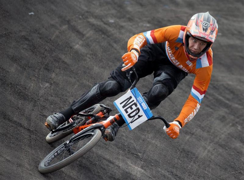 BMX'er Kimmann ontspannen onder verwachtingen