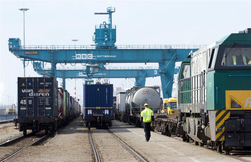 Eerste 'trein' uit China in Rotterdam