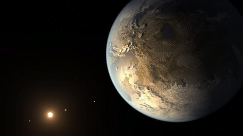 NASA ontdekt planeet die op aarde lijkt