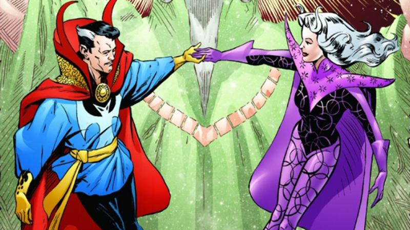 Doctor Strange en Clea (comic)