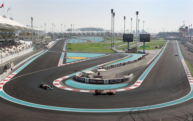 Eerste wielergala in Abu Dhabi