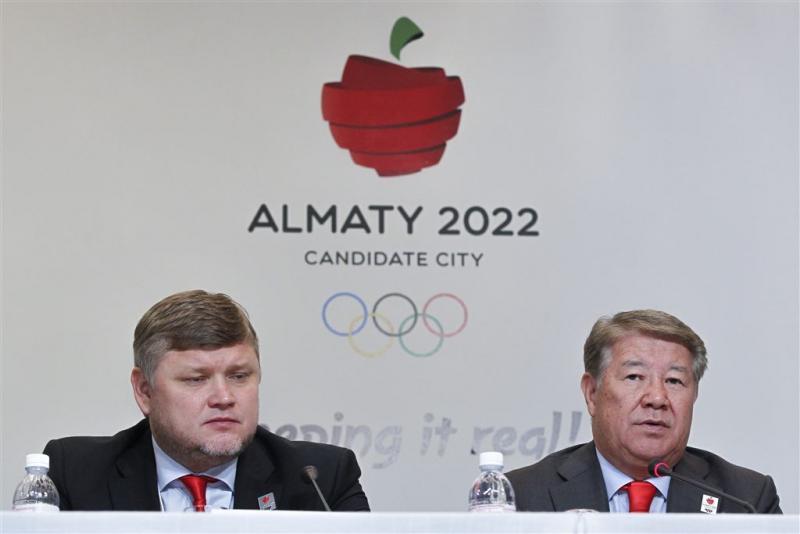 Almaty: wij hebben echte sneeuw