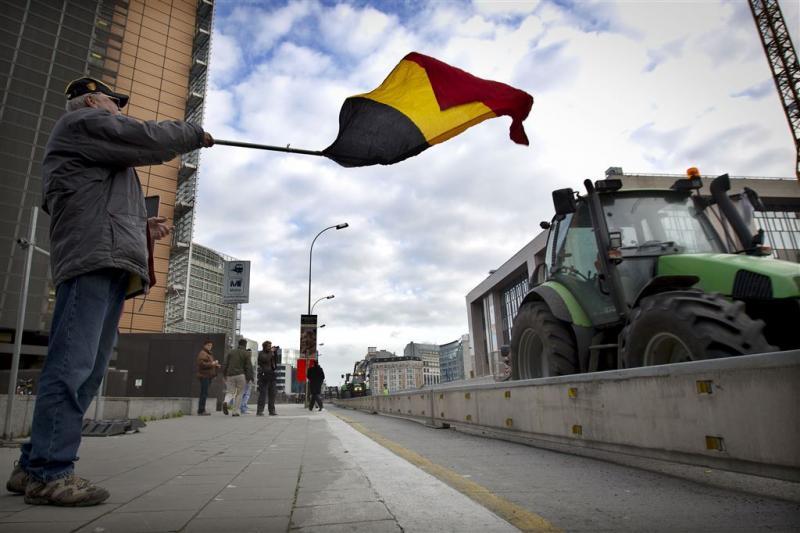 Opnieuw blokkades boze Belgische boeren