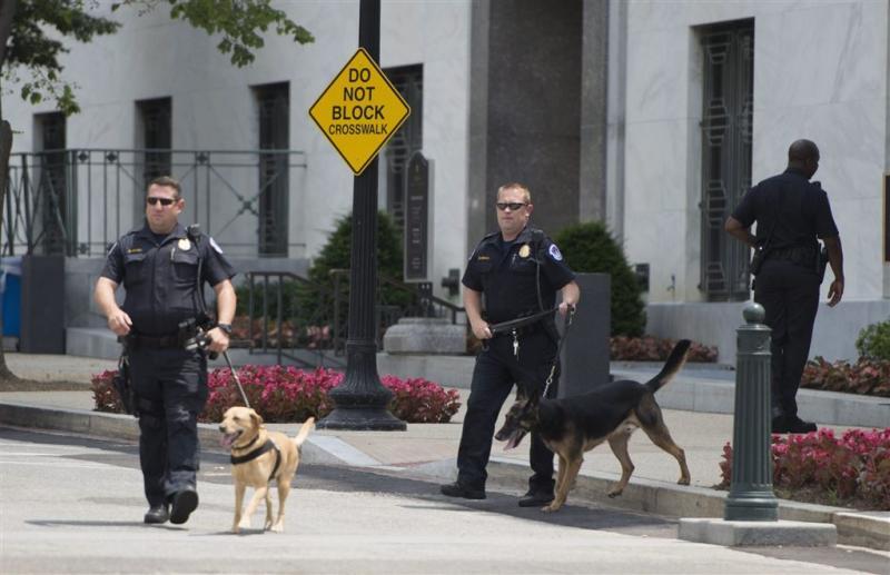 Man met wapens opgepakt bij Capitol VS