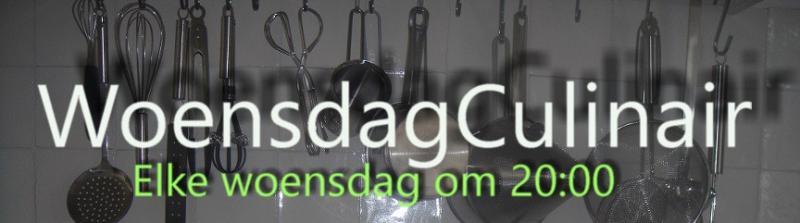 WoensdagCulinair banner