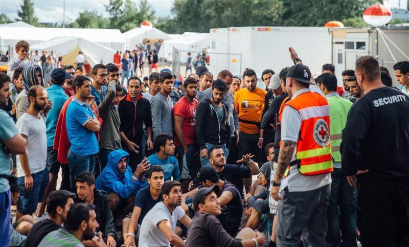 Duitsland ontvangt recordaantal asielzoekers