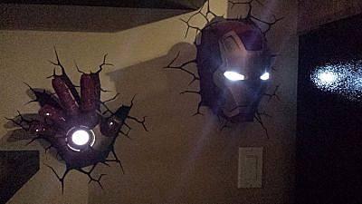 iron man lampen