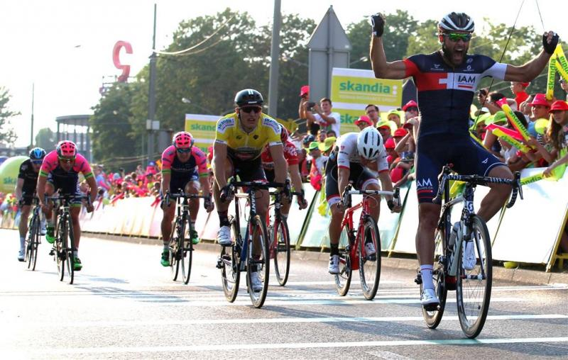 Tweede ritzege sprinter Pelucchi in Polen