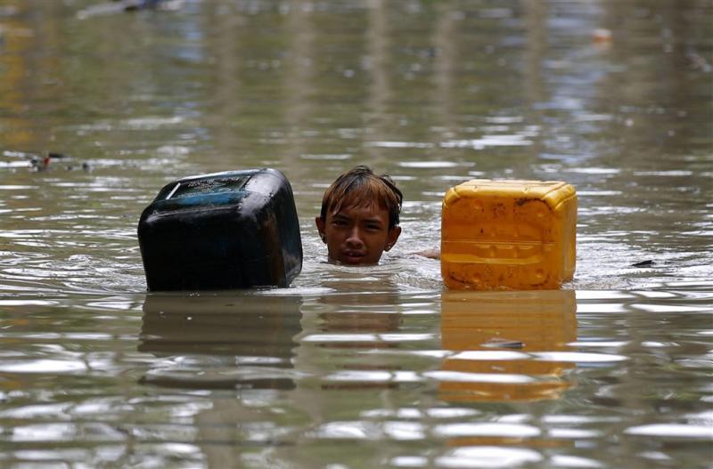 Moesson teistert Zuid-Azië, honderden doden