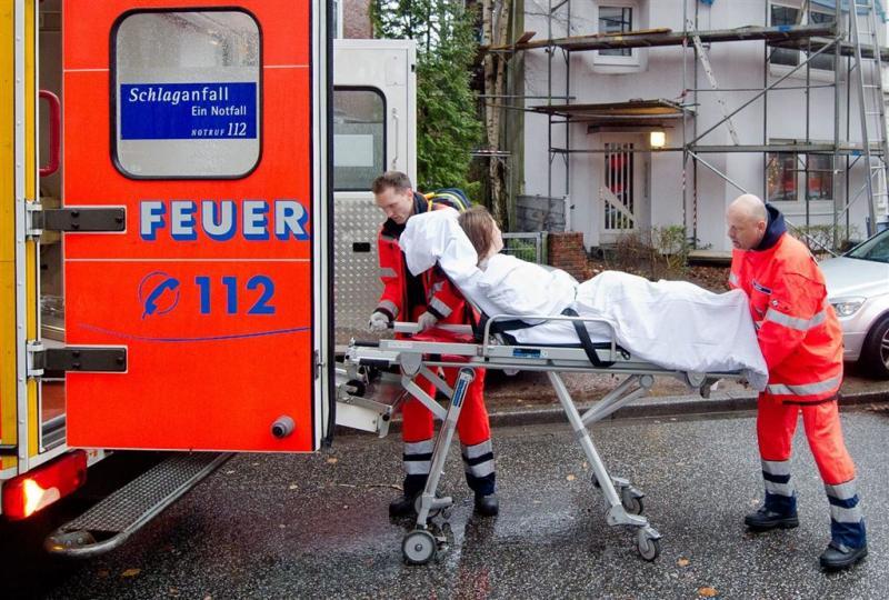 Ruim 20 gewonden door explosie in Hamburg