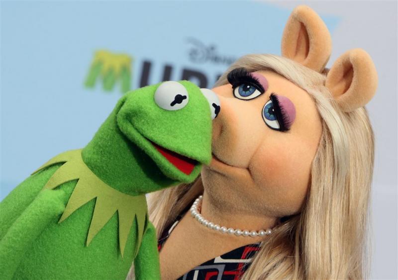 Het is uit tussen Kermit en Miss Piggy