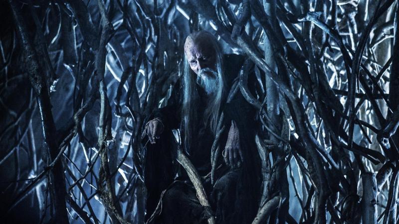 Game of Thrones: Struan Rodger als de Three-Eyed Raven