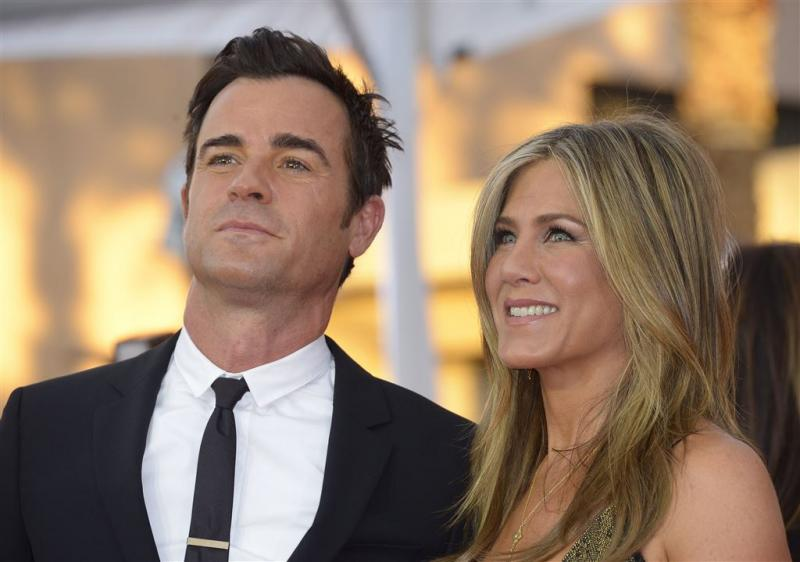 'Jennifer Aniston in geniep getrouwd'