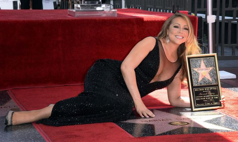 Mariah Carey onthult Hollywood-ster