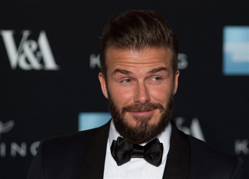 David Beckham is boos