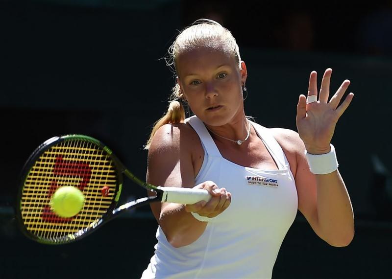Tennisster Bertens nog niet in top honderd
