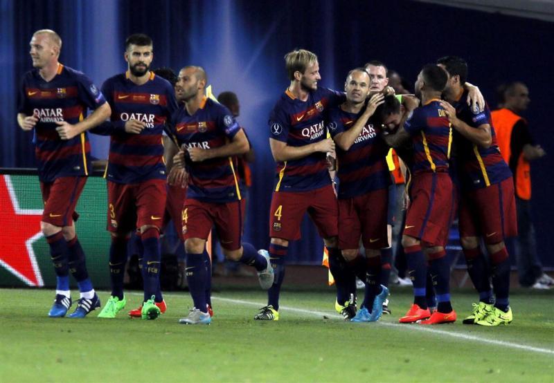 Barcelona verslaat Sevilla en wint supercup