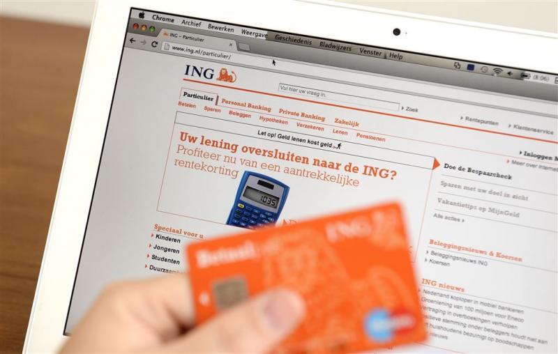 Internetbankieren ING doet het niet