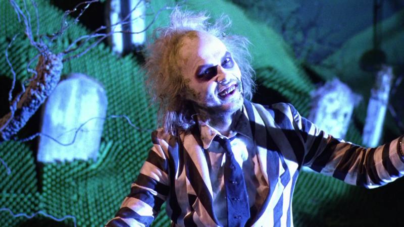 Michael Keaton als Beetlejuice