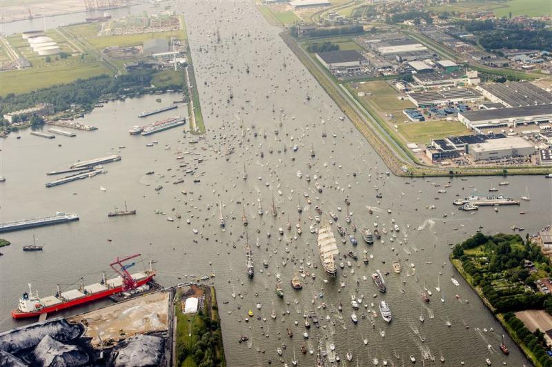 'Intocht Sail lijkt drukker dan vorige keer'