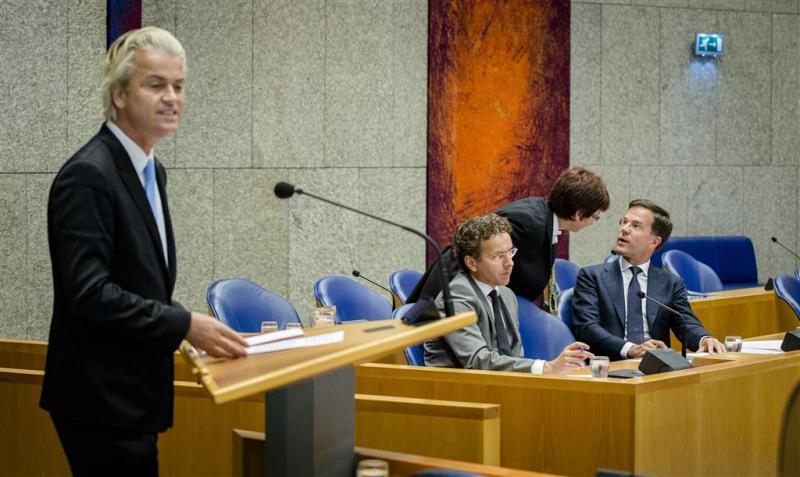 Wilders' motie van wantrouwen verworpen