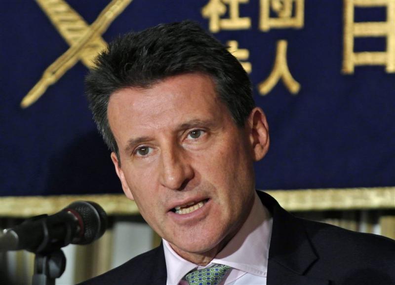Coe gekozen als voorzitter IAAF