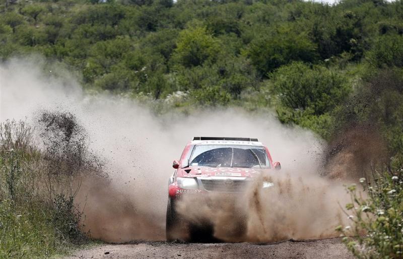Dakar Rally niet door Peru